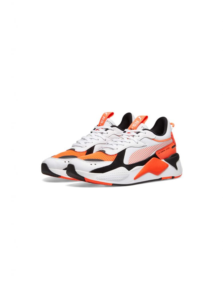 Puma Sneakers RS-X Reinvention White-Red Blast | Wooden Store