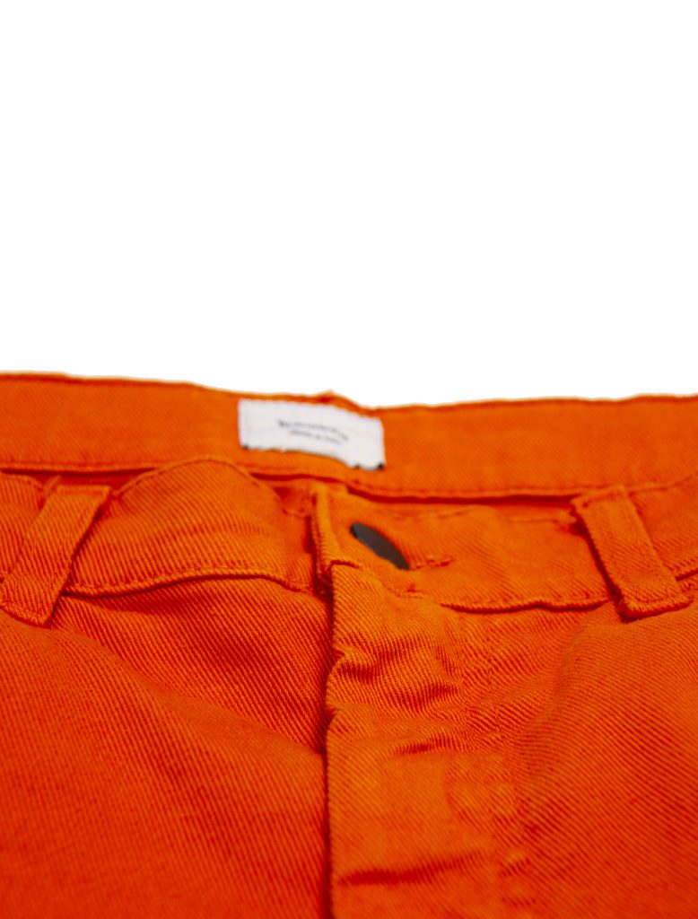 Pantaloni Regular Orange | Wooden Store