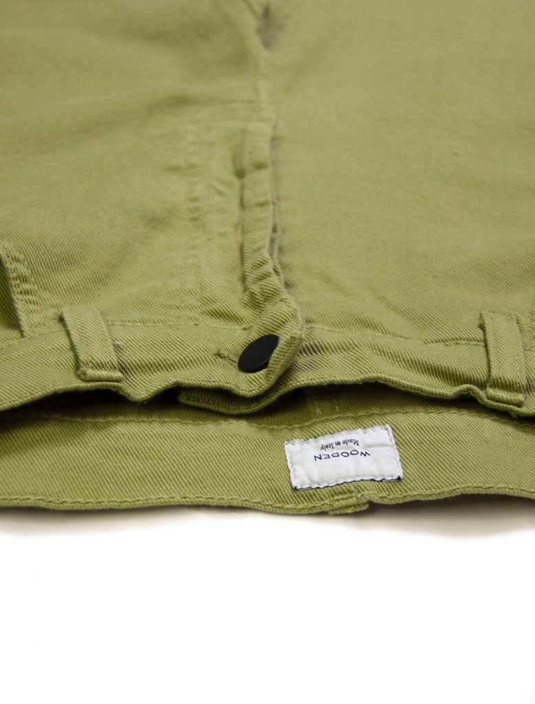 Pantaloni Original Green | Wooden Store