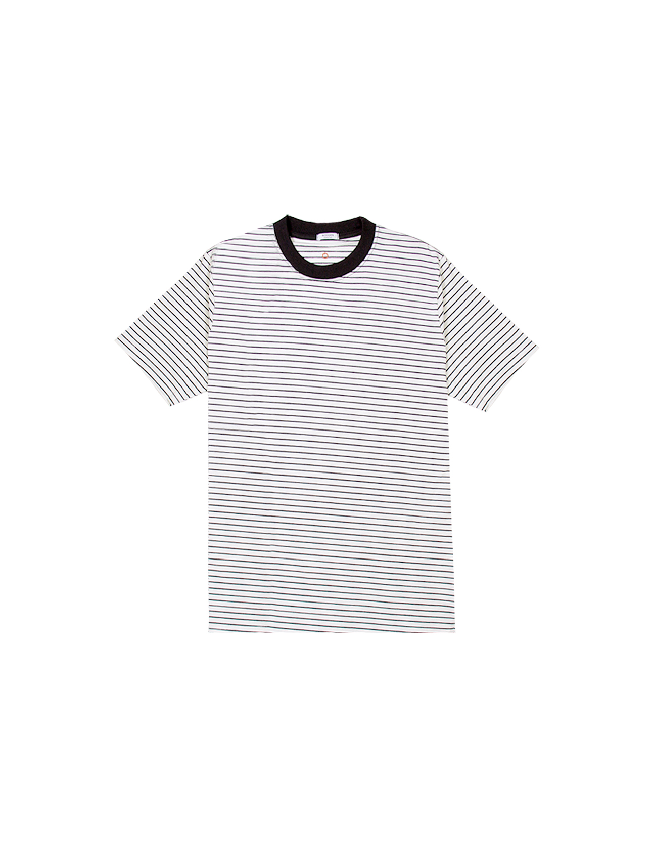 T-Shirt Righe Bianche Nere | Wooden Store