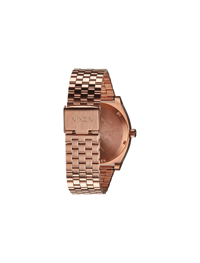 Nixon Time Teller All Rose Gold | Wooden Store