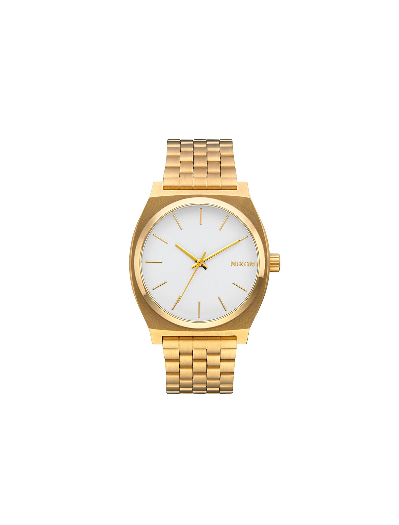 Nixon Time Teller Gold/ White | Wooden Store