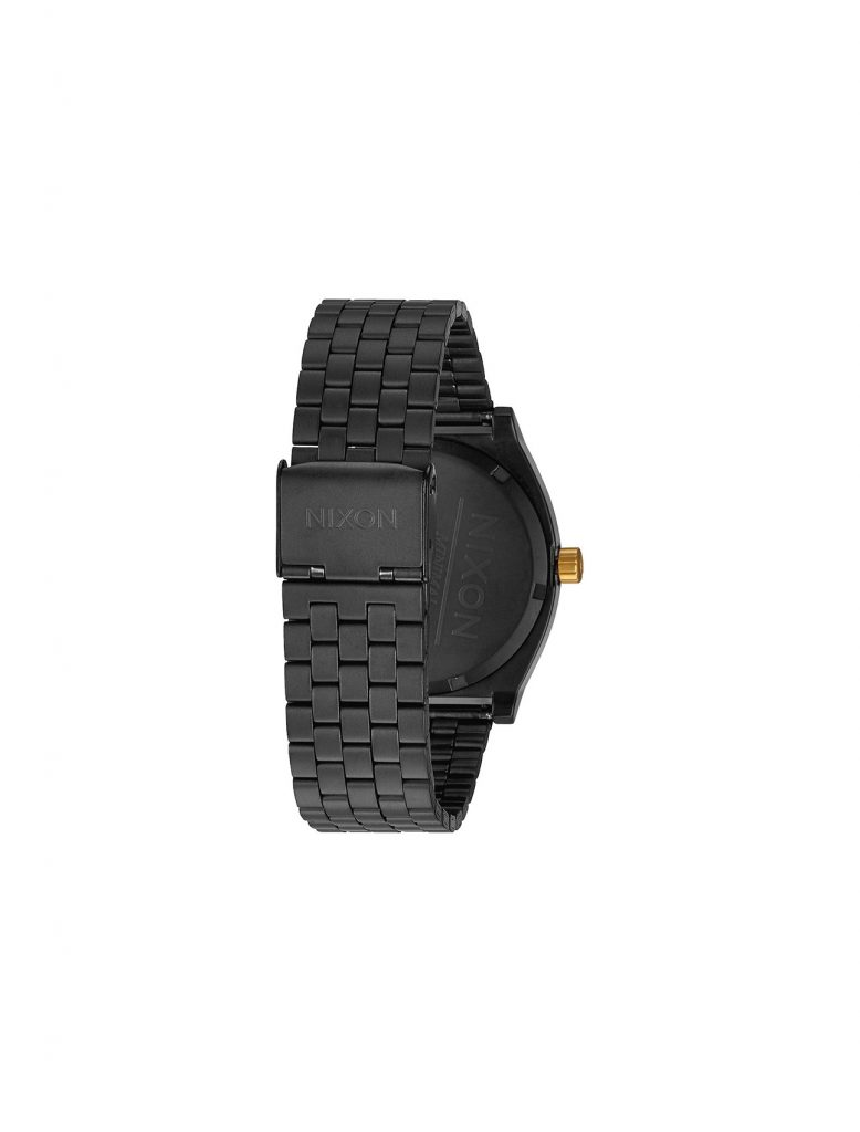 Nixon Time Teller Matte Black/ Gold | Wooden Store