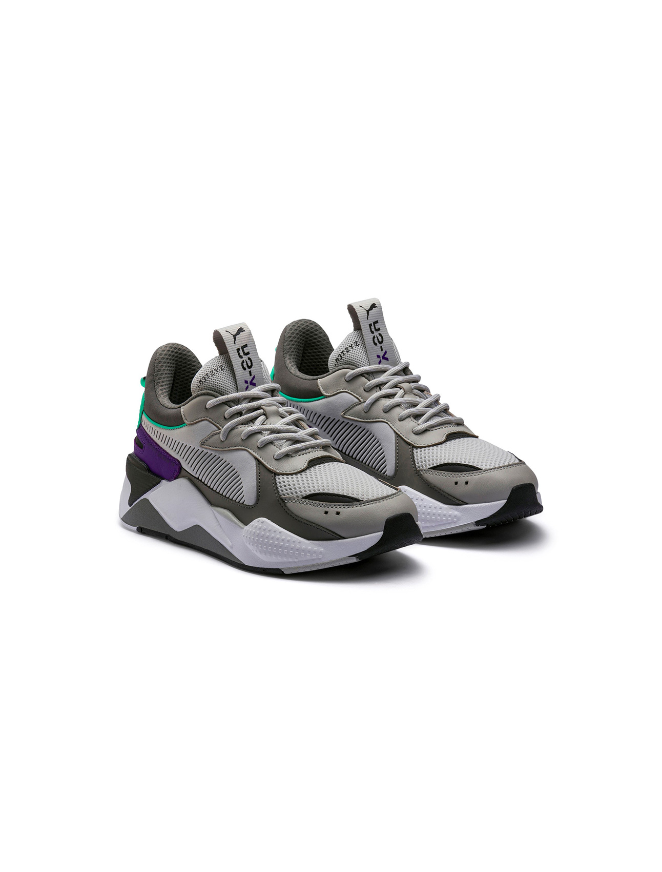 Puma Rs-X Tracks Gray Violet-Charcoal Gray | Wooden Store