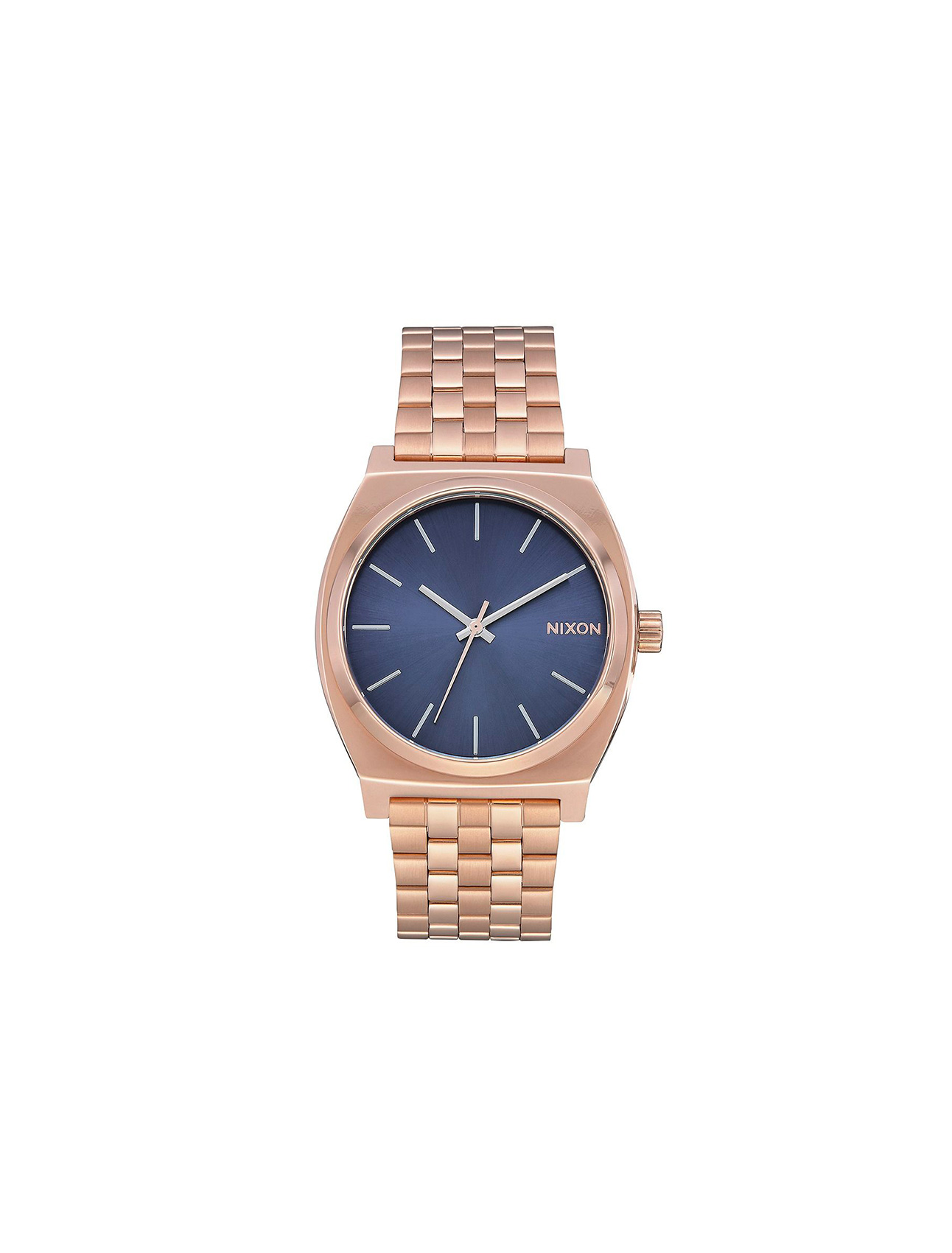Nixon Time Teller Rose Gold/ Storm | Wooden Store