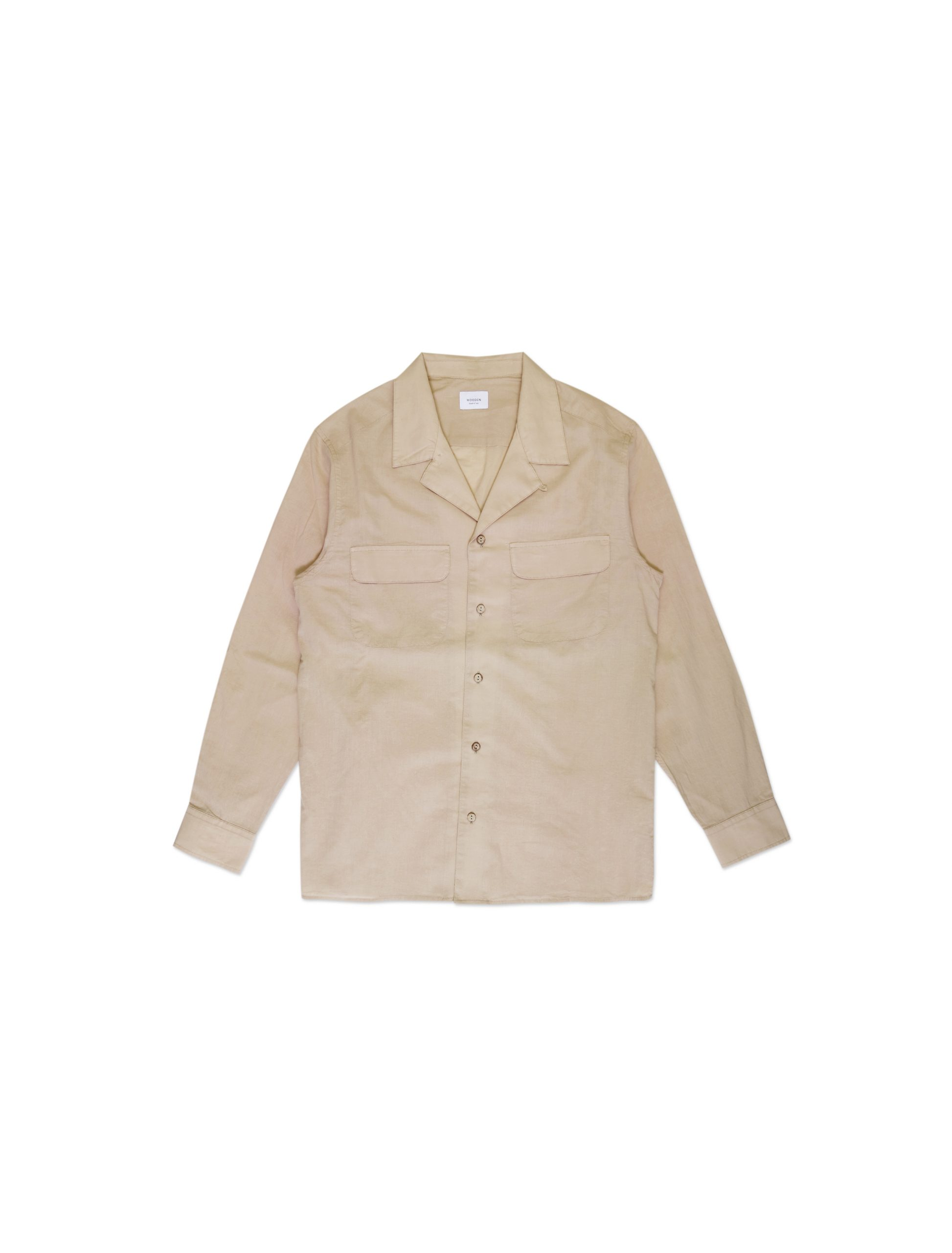 Camicia Bowling Beige | Wooden Store