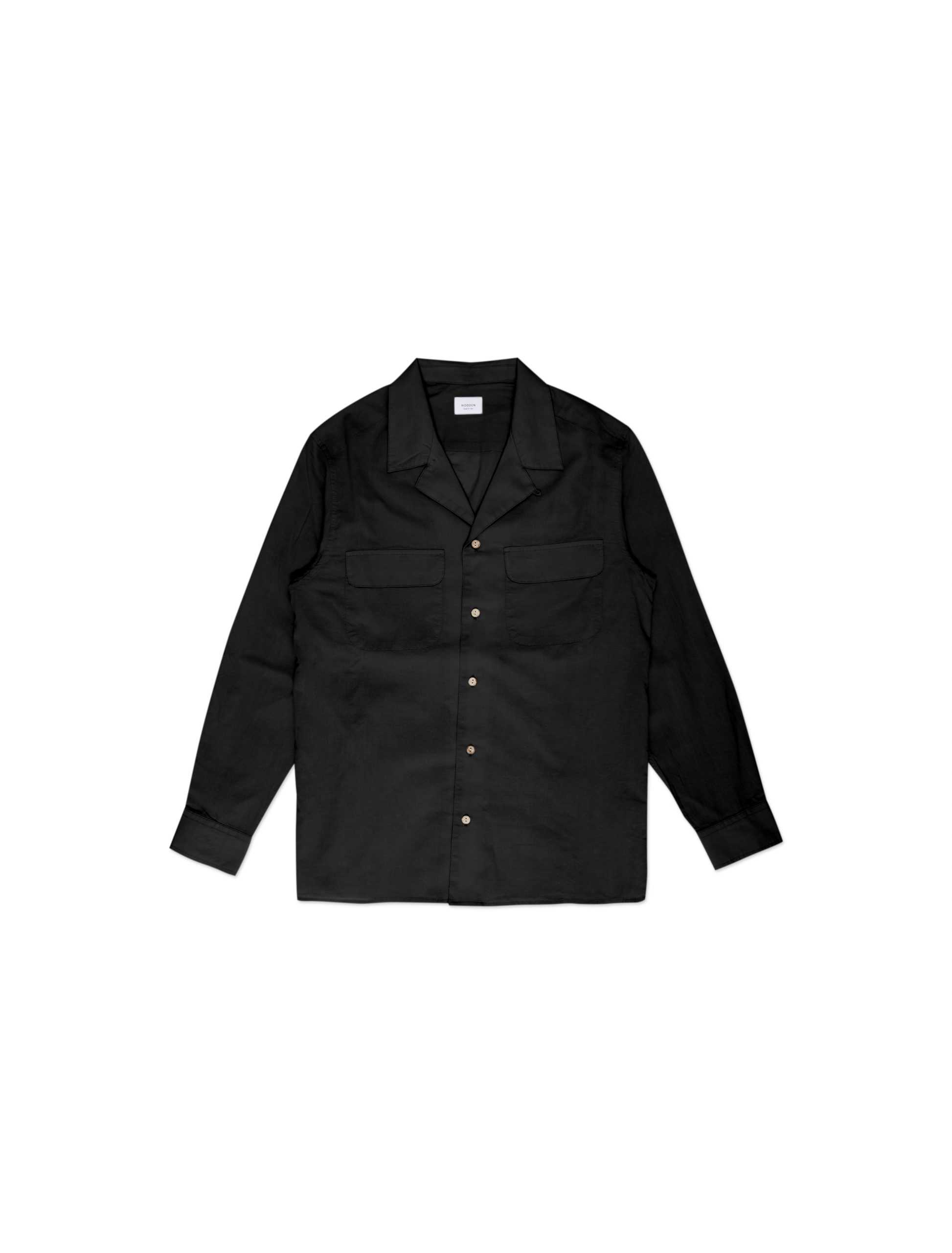Camicia Bowling Nera | Wooden Store
