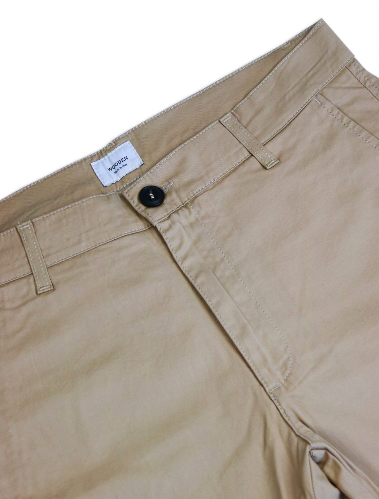 Chino Short Beige | Wooden Store