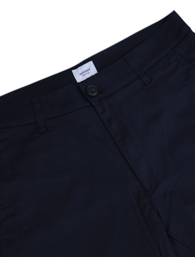 Chino Short Blu | Wooden Store