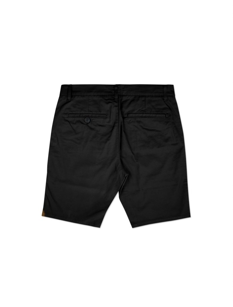 Chino Short Nero | Wooden Store