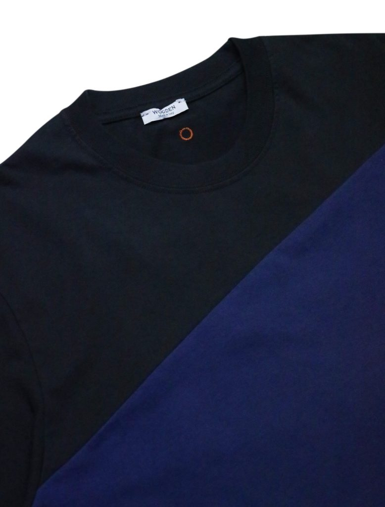 T-Shirt Righe Blu Nere | Wooden Store