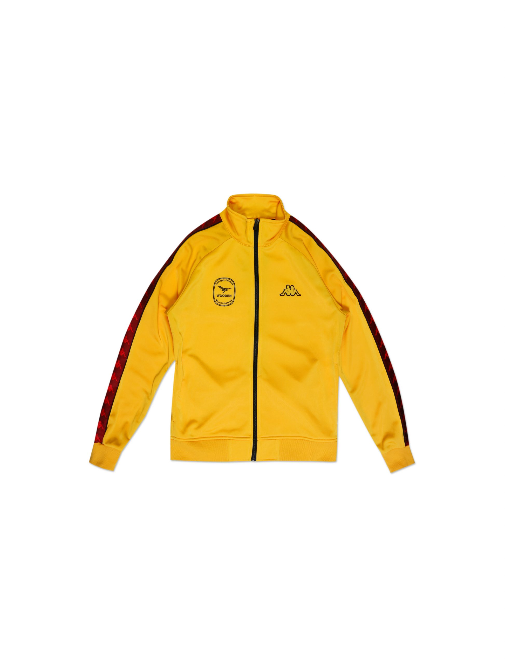 Wooden ft. Kappa Tracksuit Gialla   Wooden Store