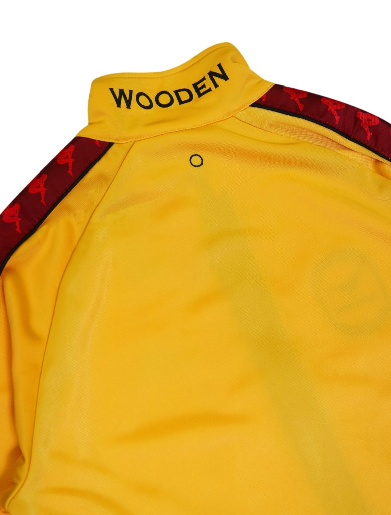 Wooden ft. Kappa Tracksuit Gialla | Wooden Store