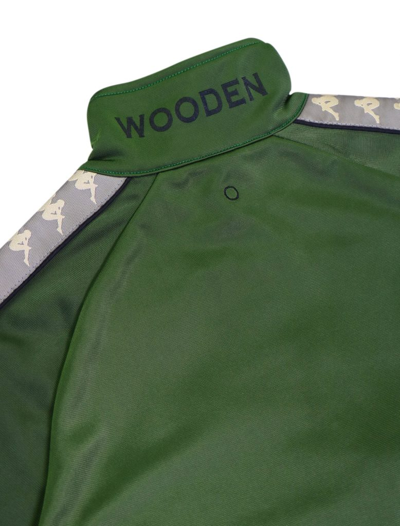 Wooden ft. Kappa Tracksuit Verde | Wooden Store