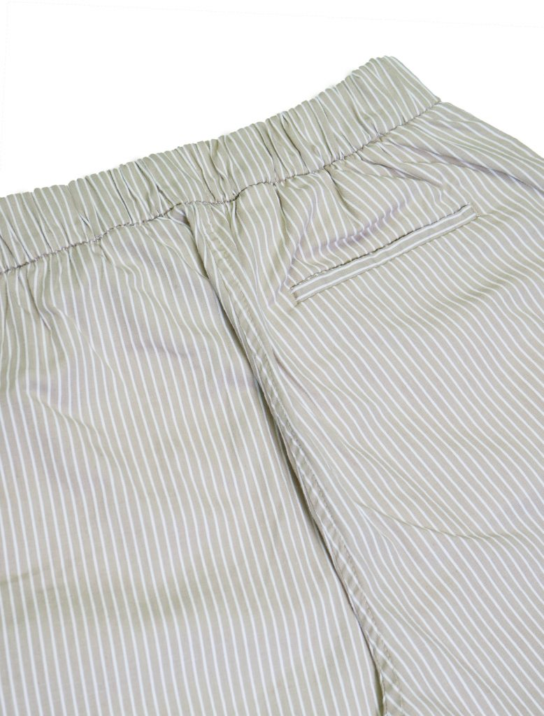 Pantaloni Lounge Righe Beige | Wooden Store
