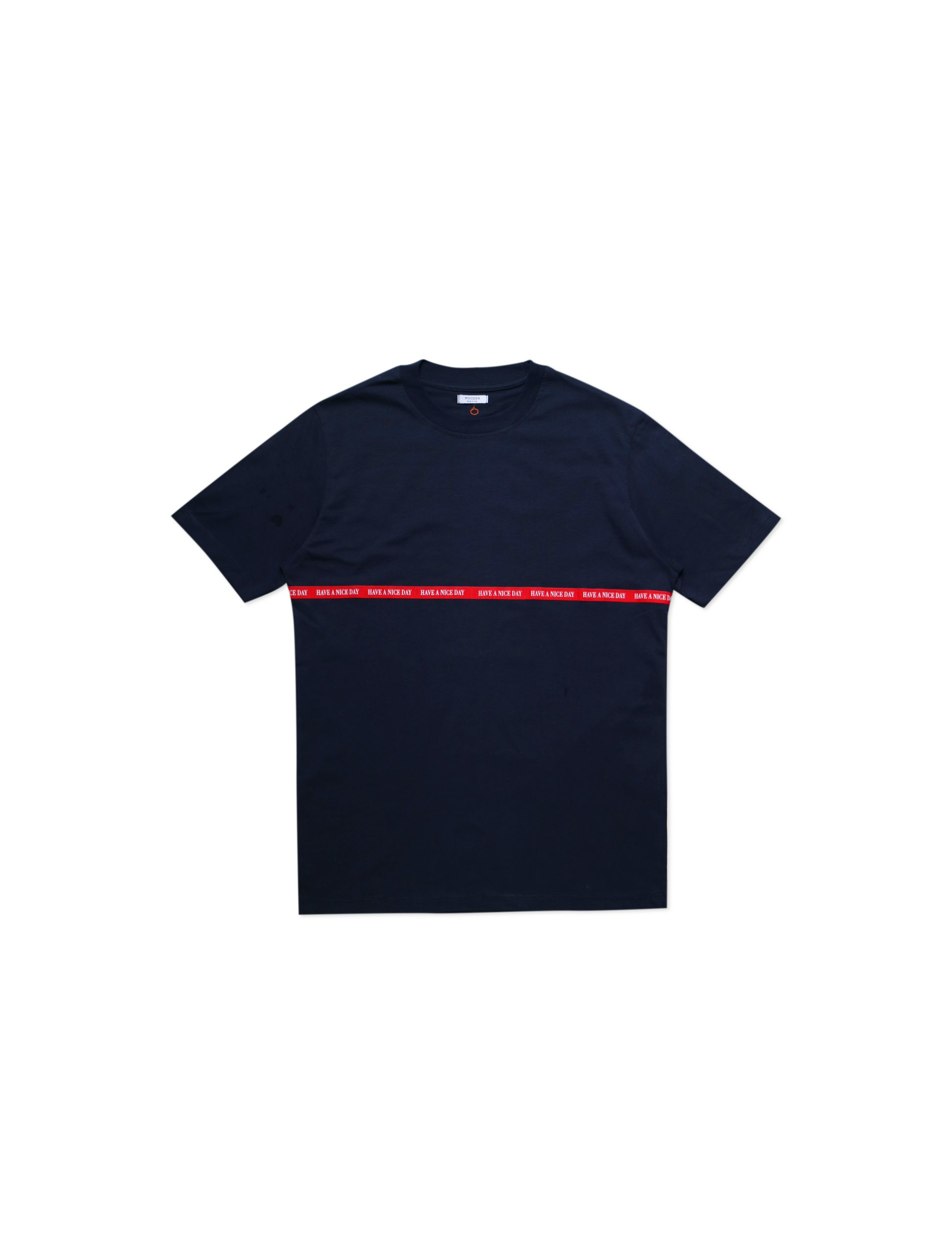 T-Shirt Have A Nice Day Blu | Wooden Store