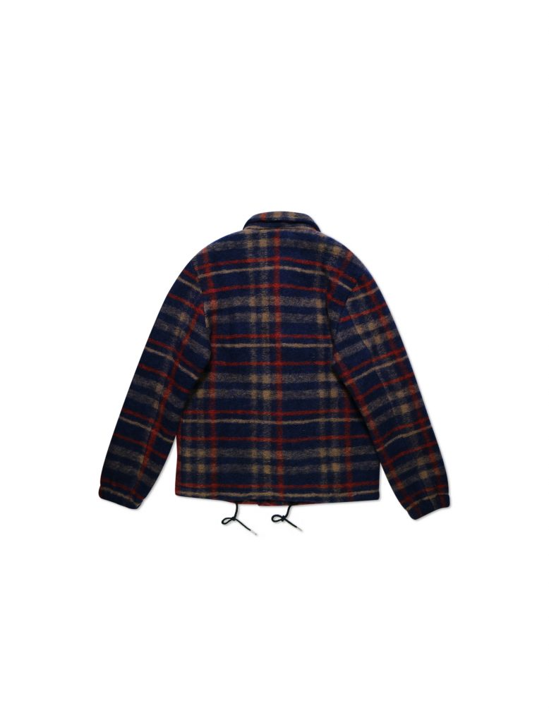 Giacca Camden Check Blu | Wooden Store