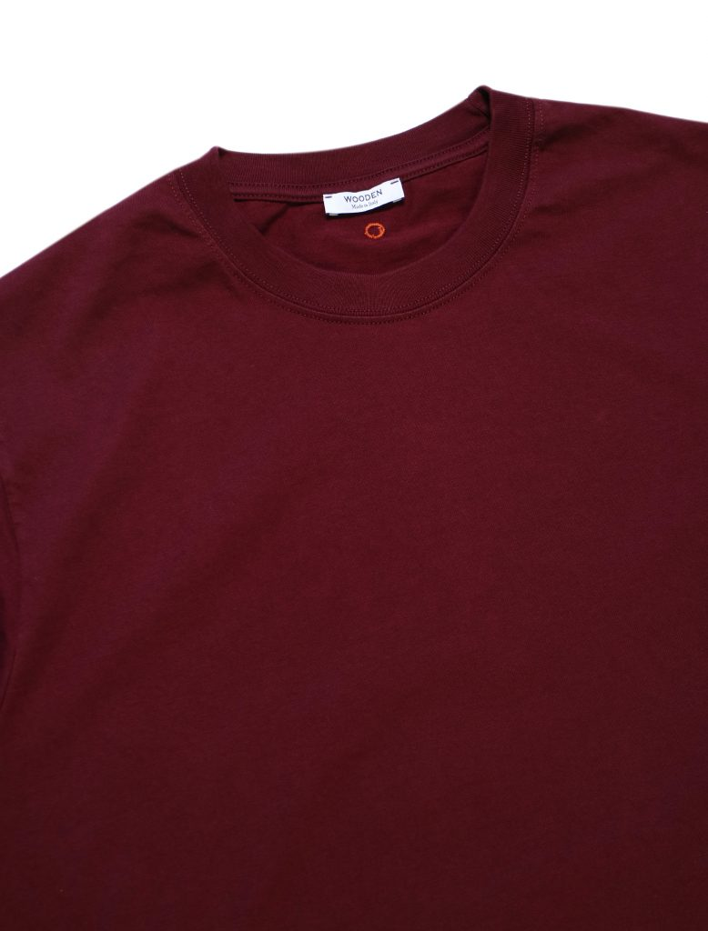 T-Shirt Bordeaux | Wooden Store
