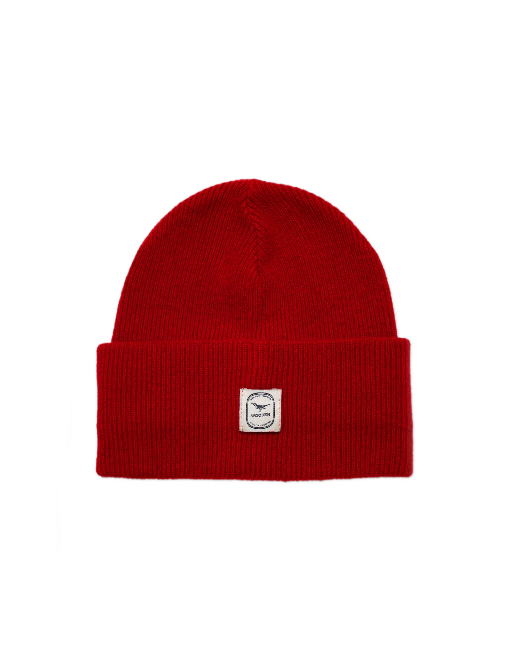 Beanie Rosso | Wooden Store