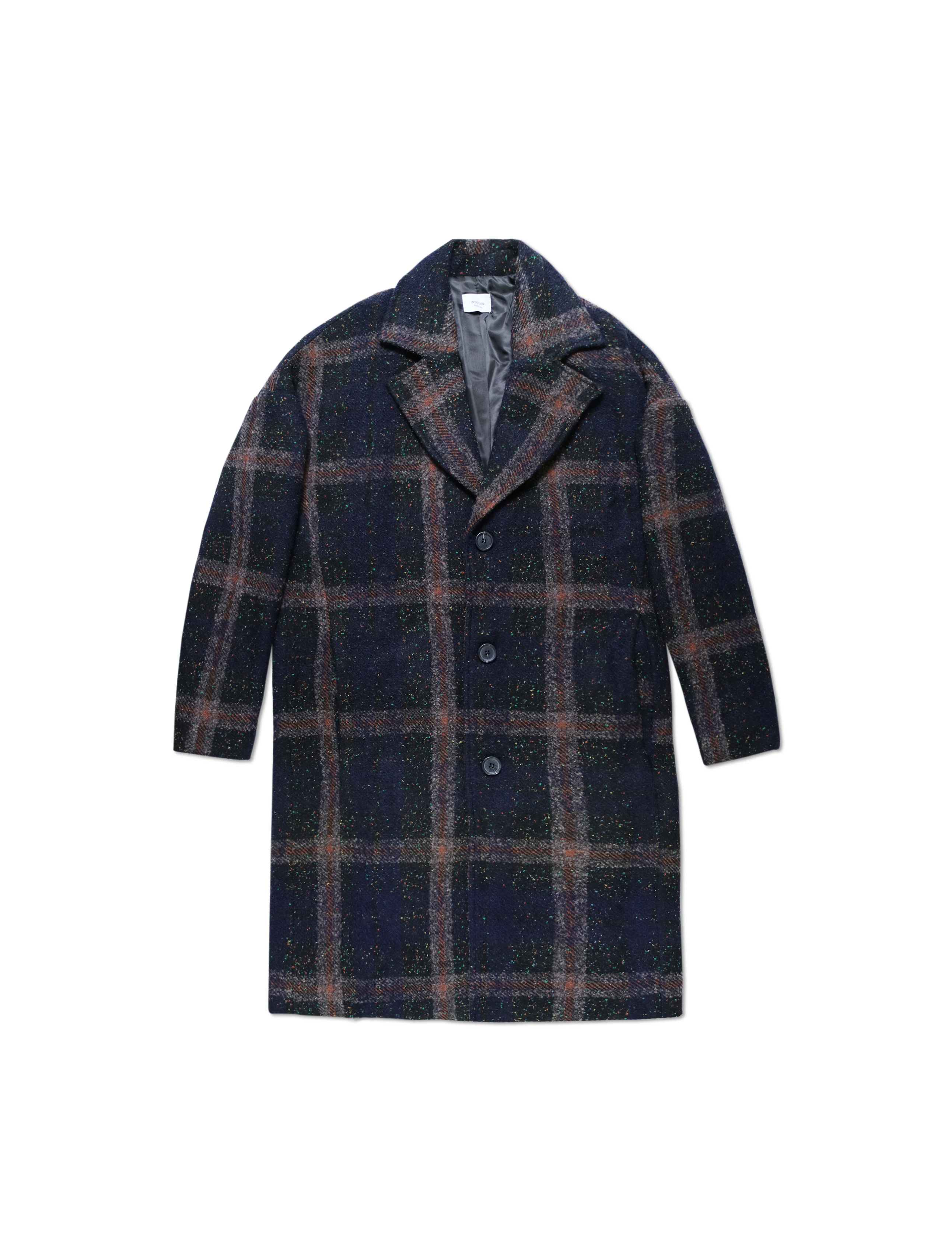 Cappotto Gregory Blue Check | Wooden Store