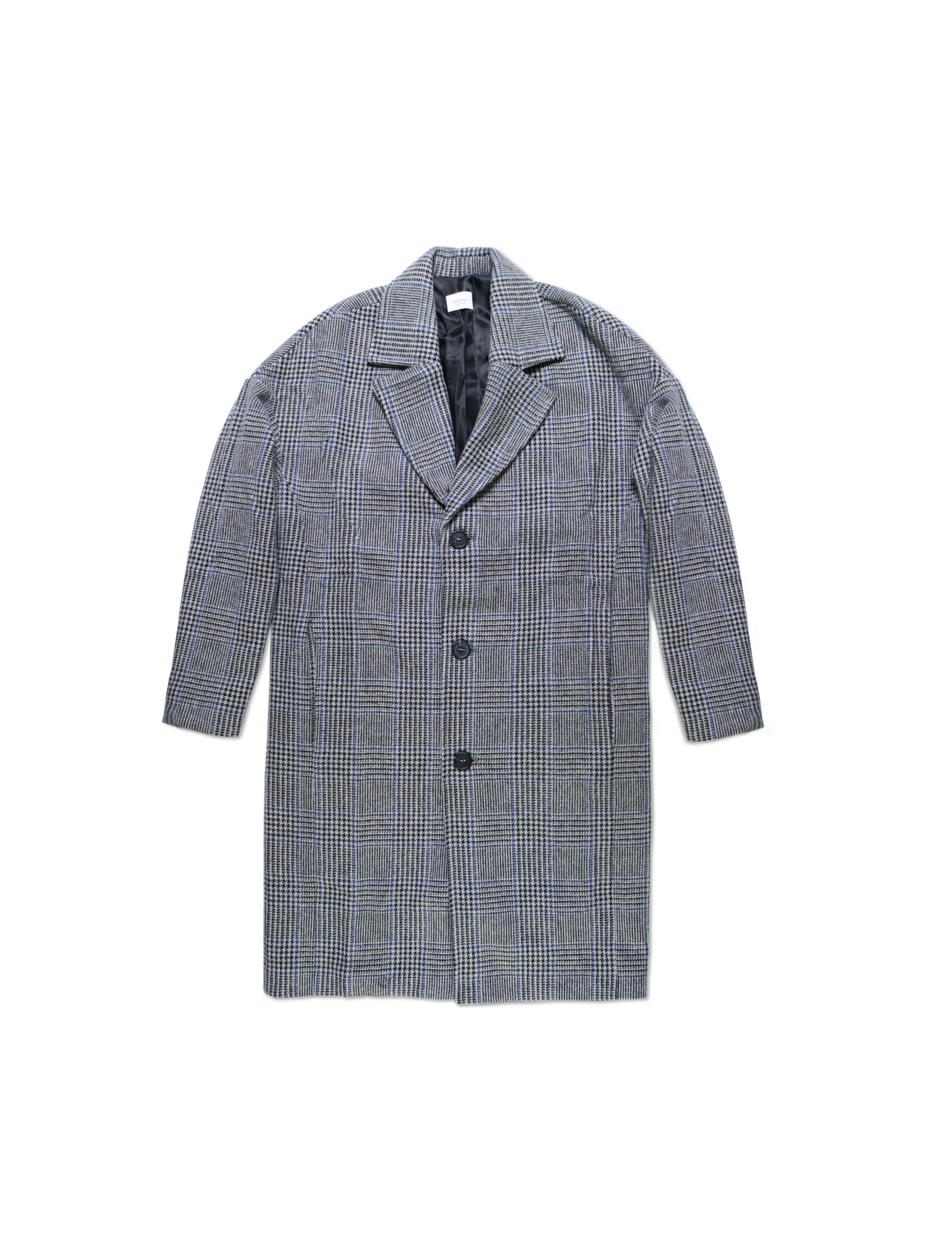 Cappotto Gregory Grey Check | Wooden Store