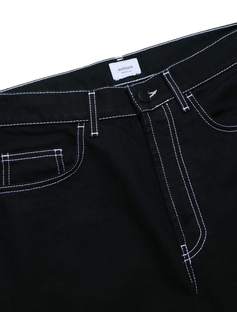 Jeans Original Black Raw | Wooden Store