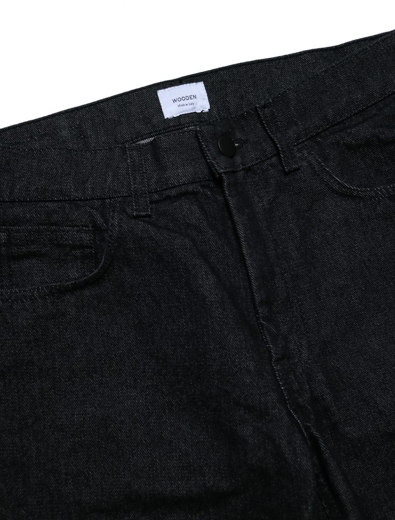 Jeans Regular Black | Wooden Store