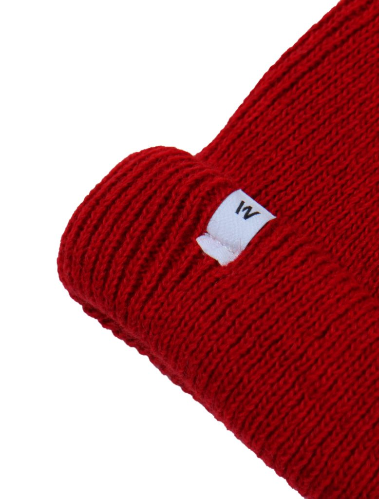 Beanie Jappo Rosso   Wooden Store