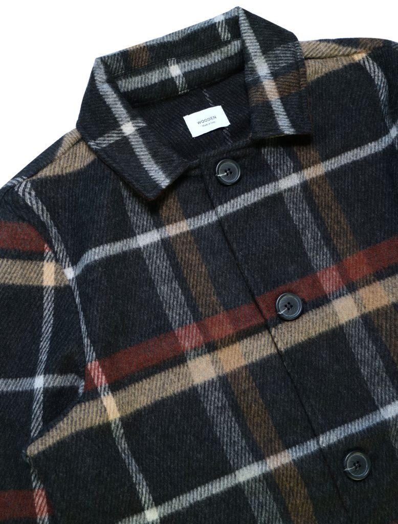 Cappotto Seattle Dark Check | Wooden Store
