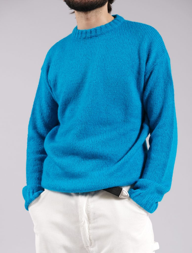 Maglione Mohair Sky | Wooden Store