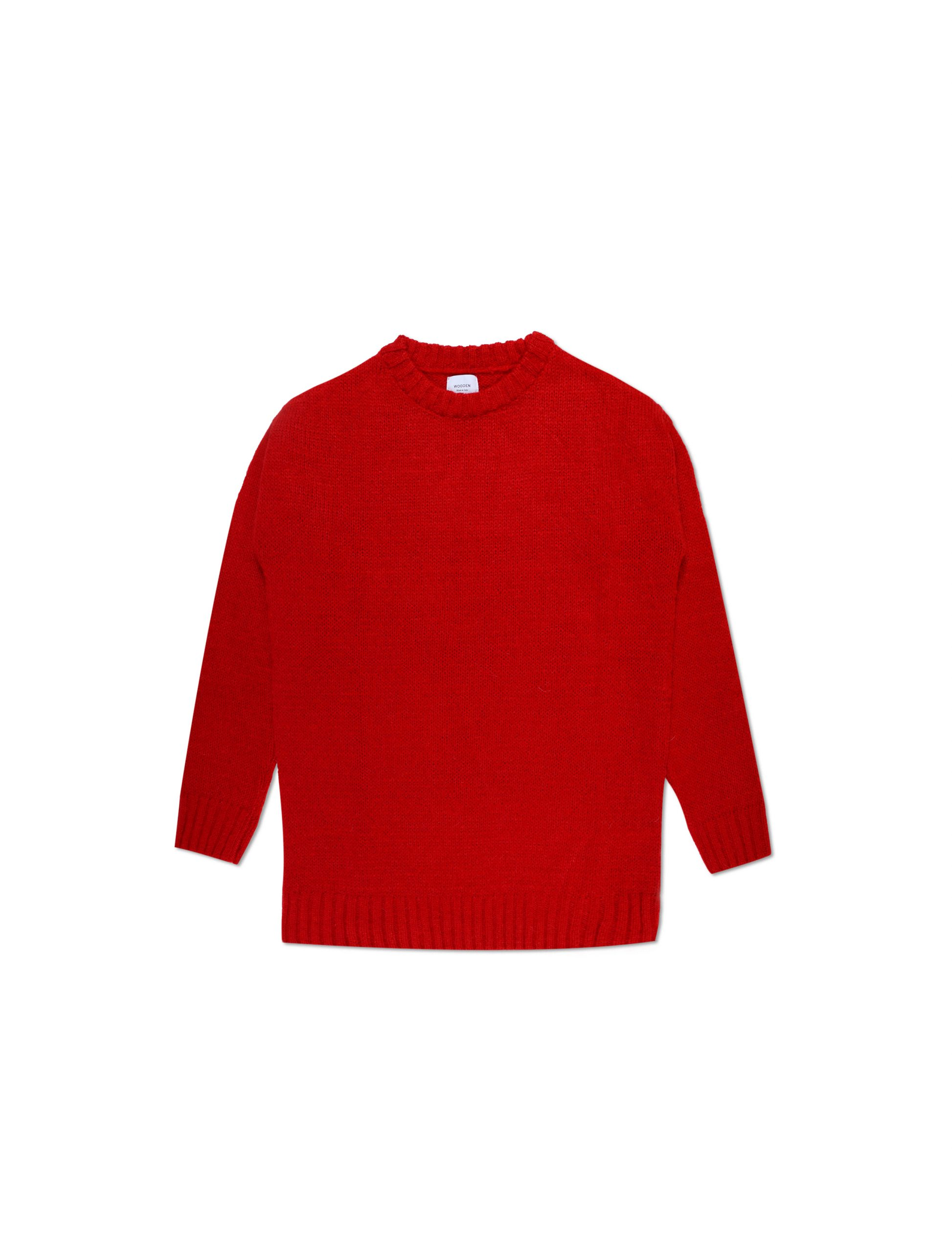 Maglione Mohair Red | Wooden Store