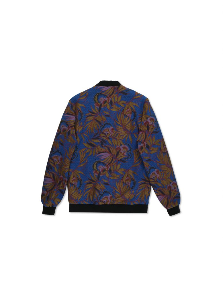 Bomber Jacquard Blu | Wooden Store