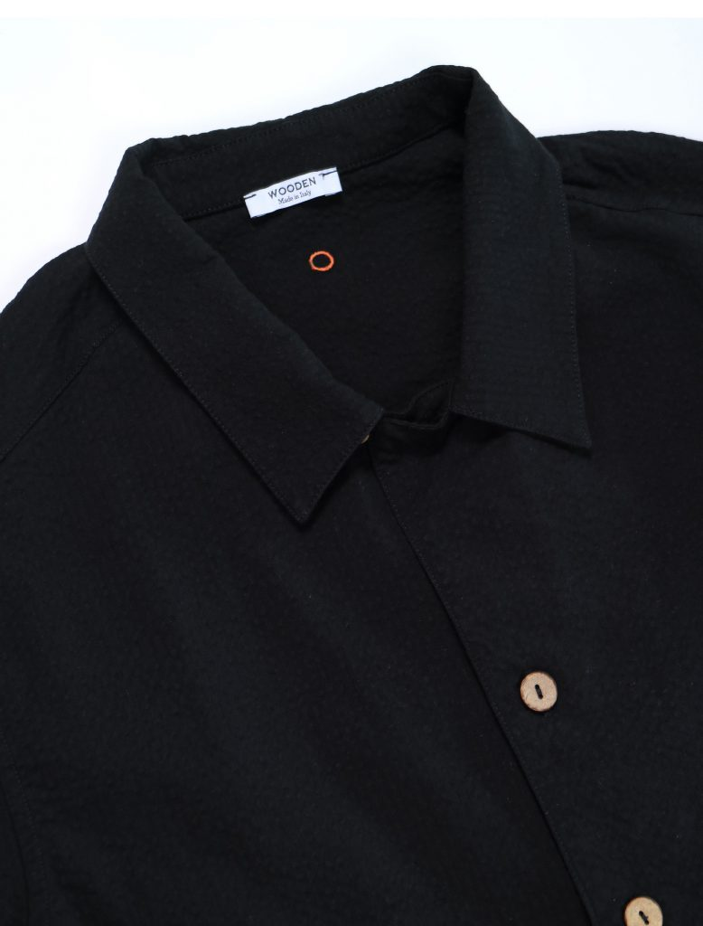 Camicia Bowling Ipsos Nera | Wooden Store