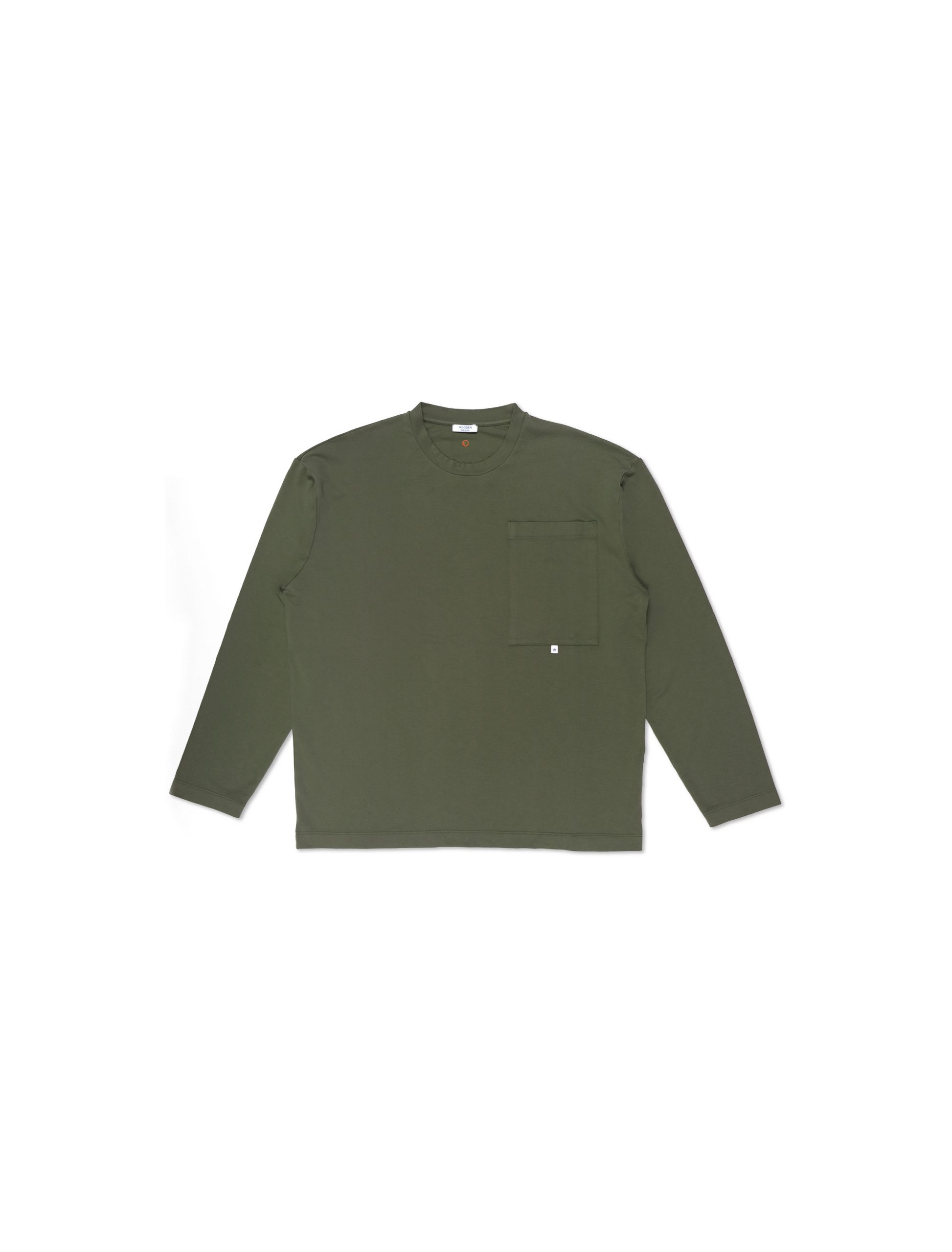 Maglia Longsleeve Military con Tasca | Wooden Store