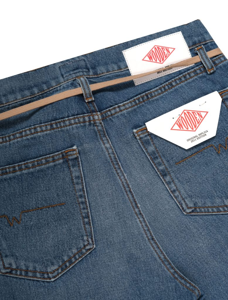 Jeans Replica Lace Used | Wooden Store