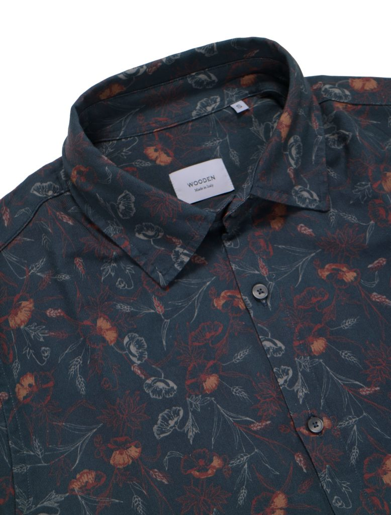 Camicia Black Flowers | Wooden Store