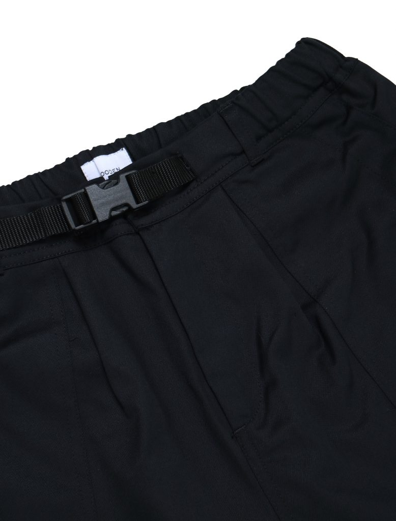Pantalone Fatigue Black | Wooden Store