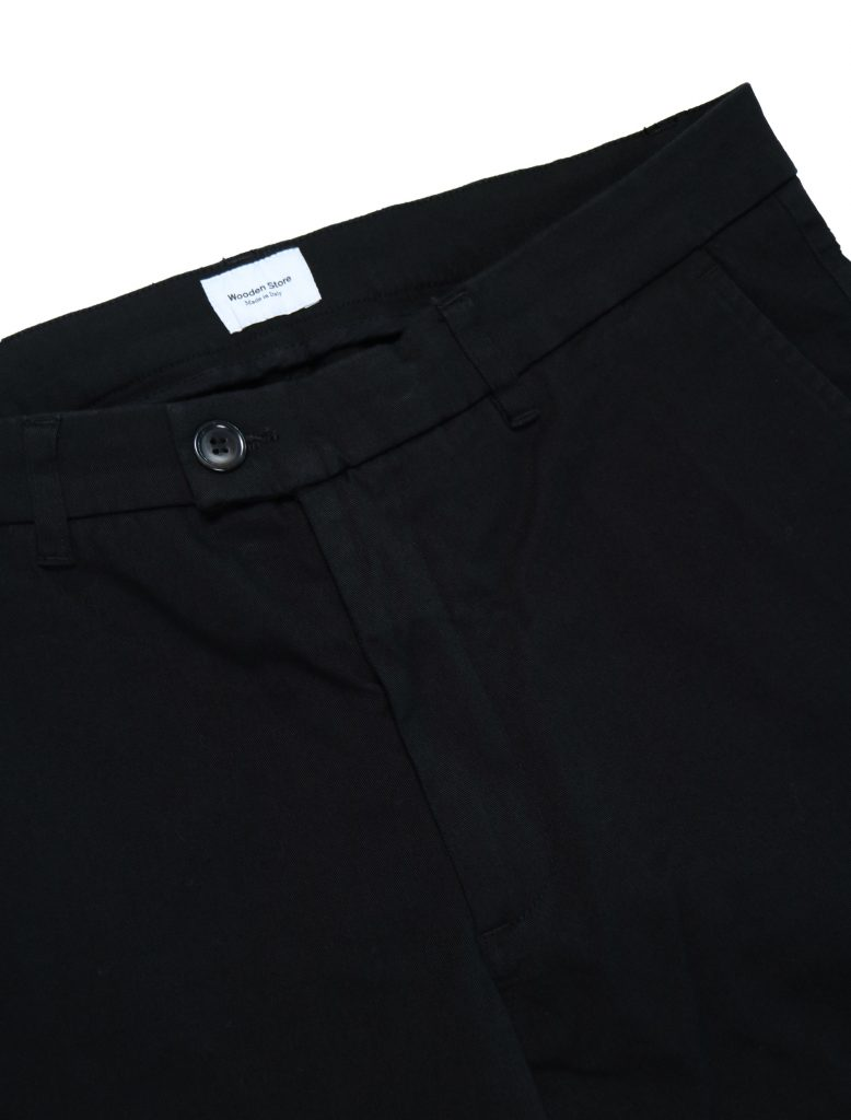 Pantalone London Nero | Wooden Store