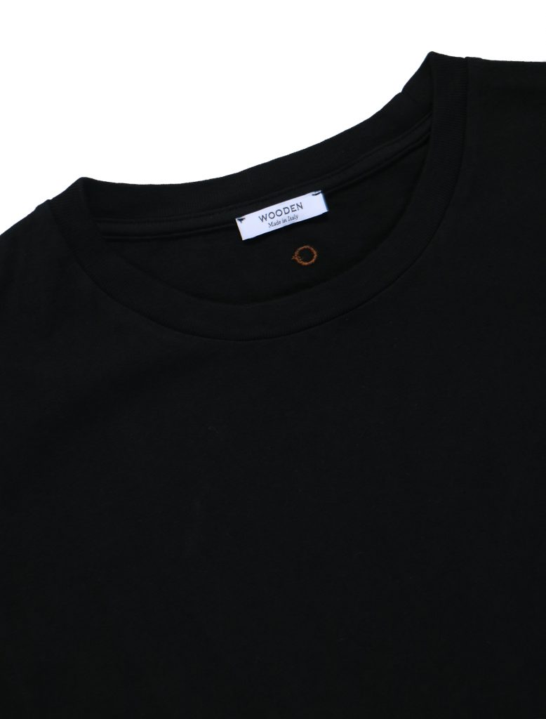 T-Shirt Over Nera | Wooden Store