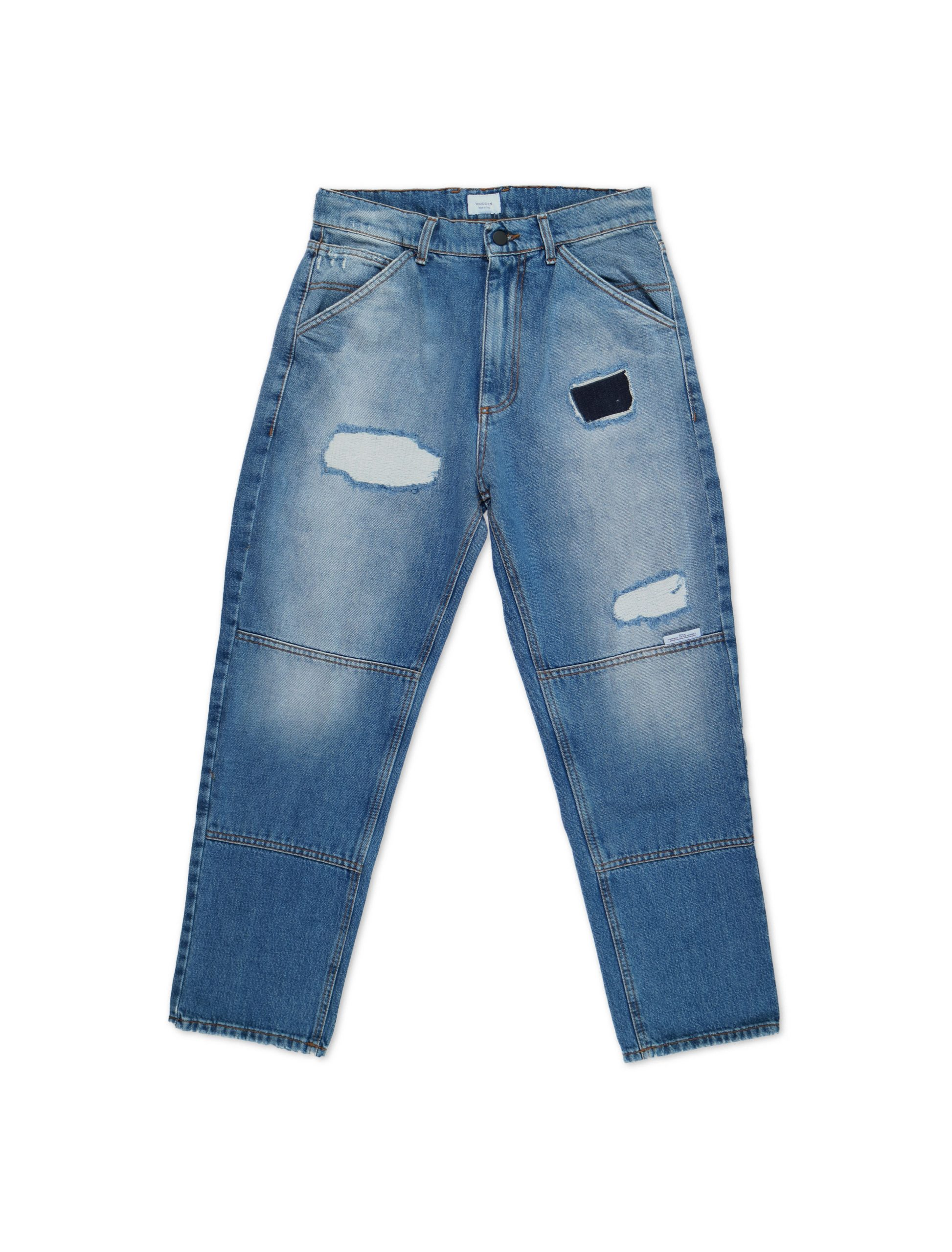 Jeans 1990 Patched | Wooden Store