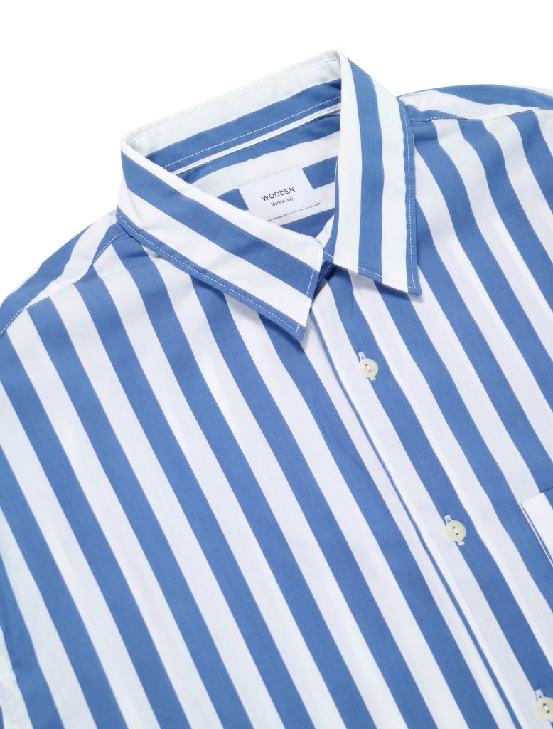 Camicia Stripes Over Blu | Wooden Store