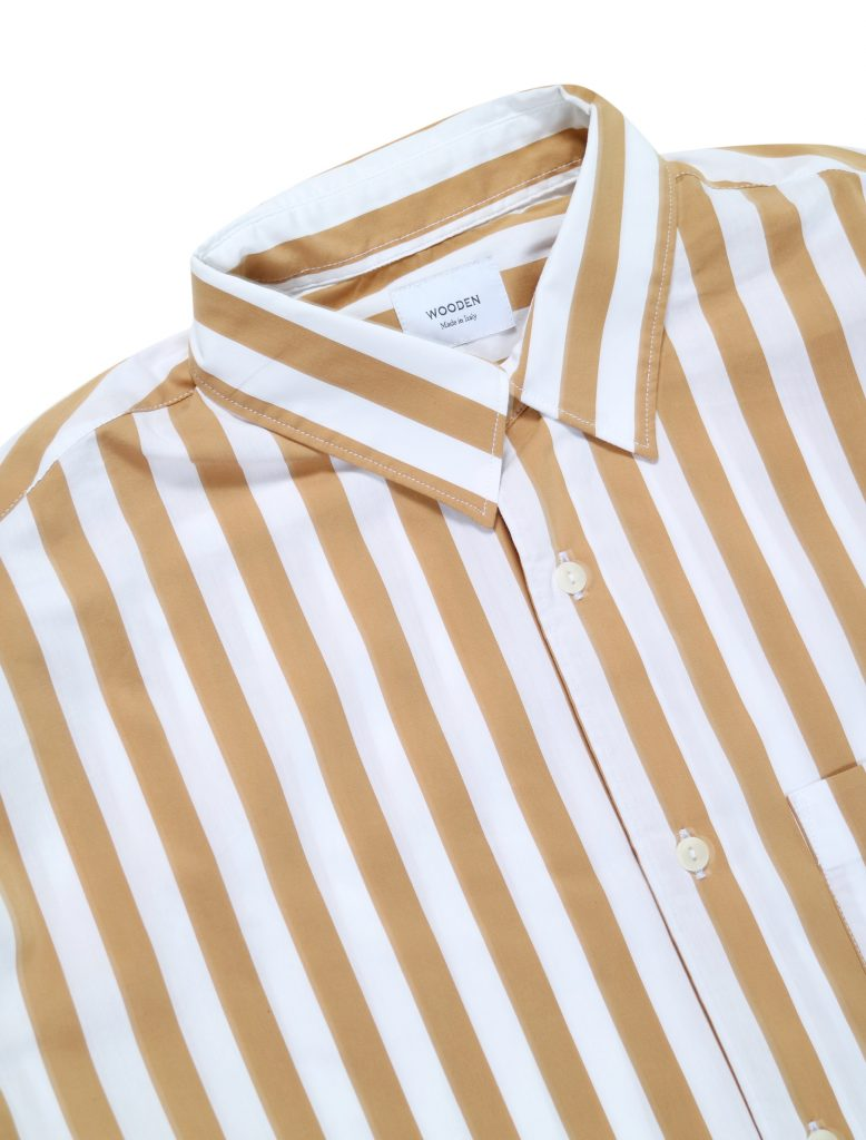 Camicia Stripes Over Senape | Wooden Store