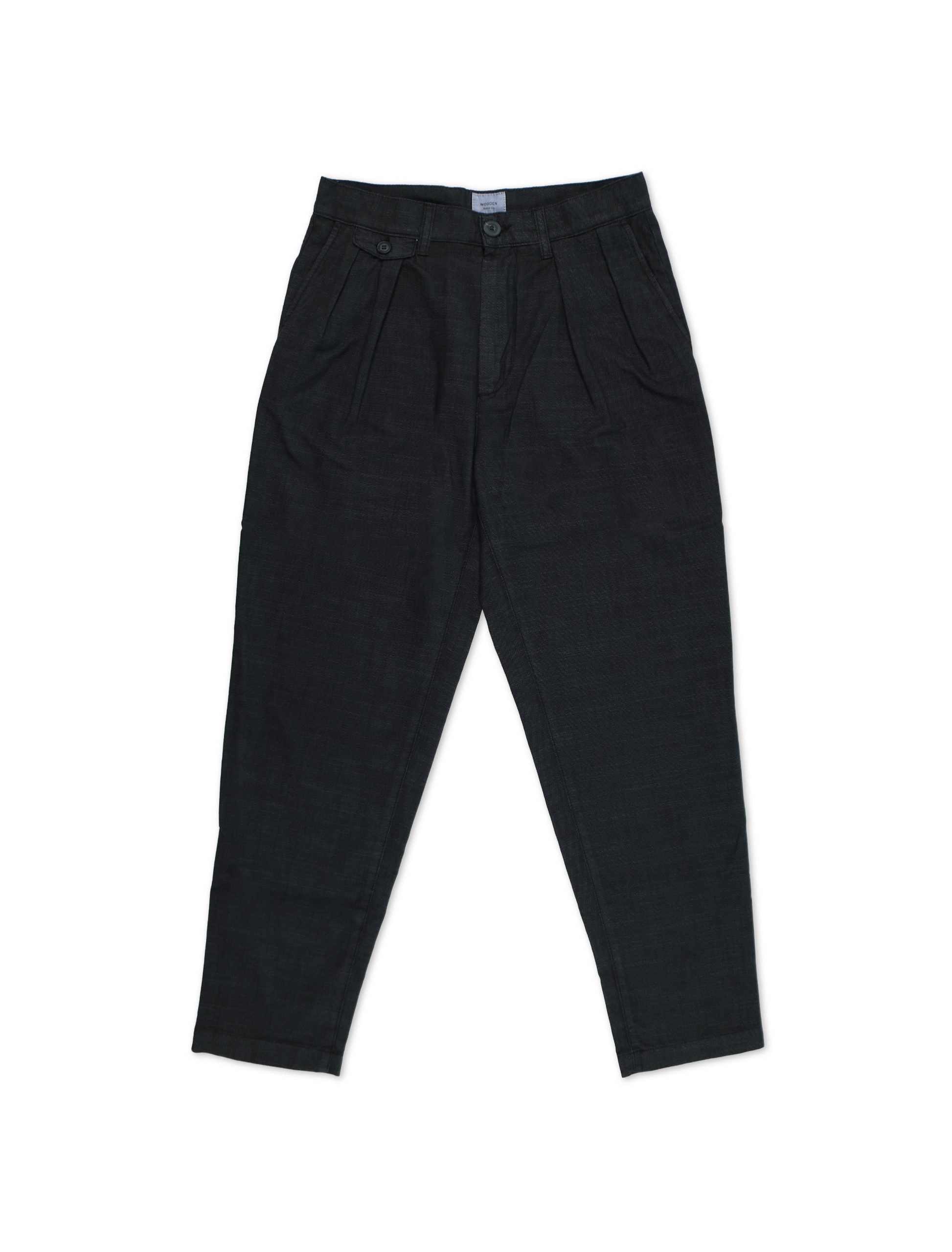 Pantalone Paris Nero | Wooden Store