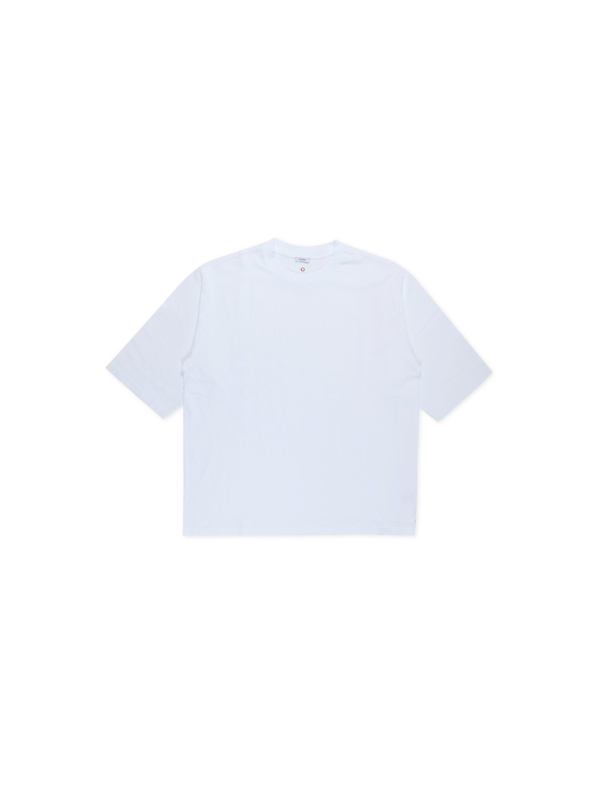T-Shirt Over Manica 3/4 Bianca | Wooden Store