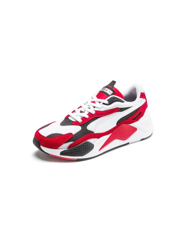 Puma Rs-X3 White-High Risk Red | Wooden Store