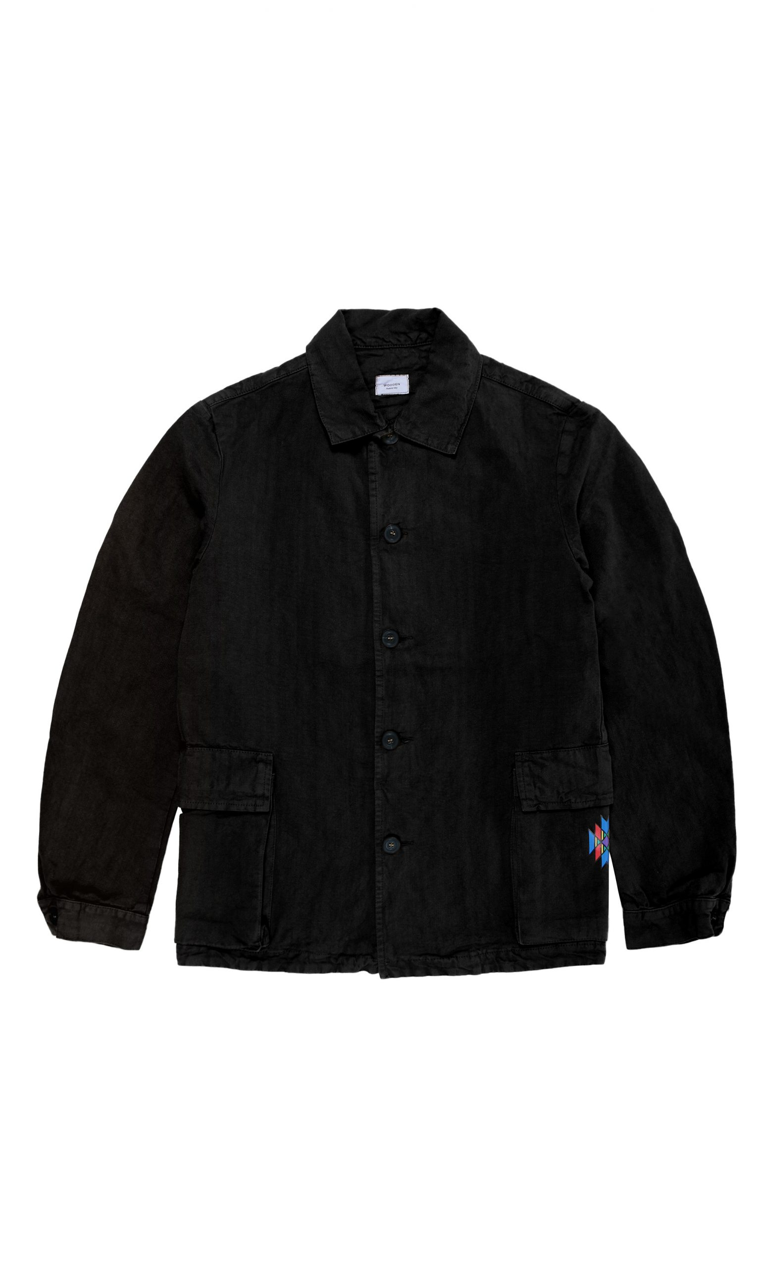 Giacca Surplus Black Native | Wooden Store