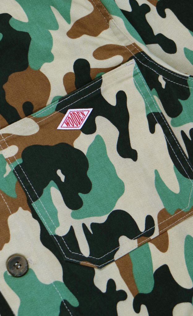 Giacca Boston Camouflage | Wooden Store