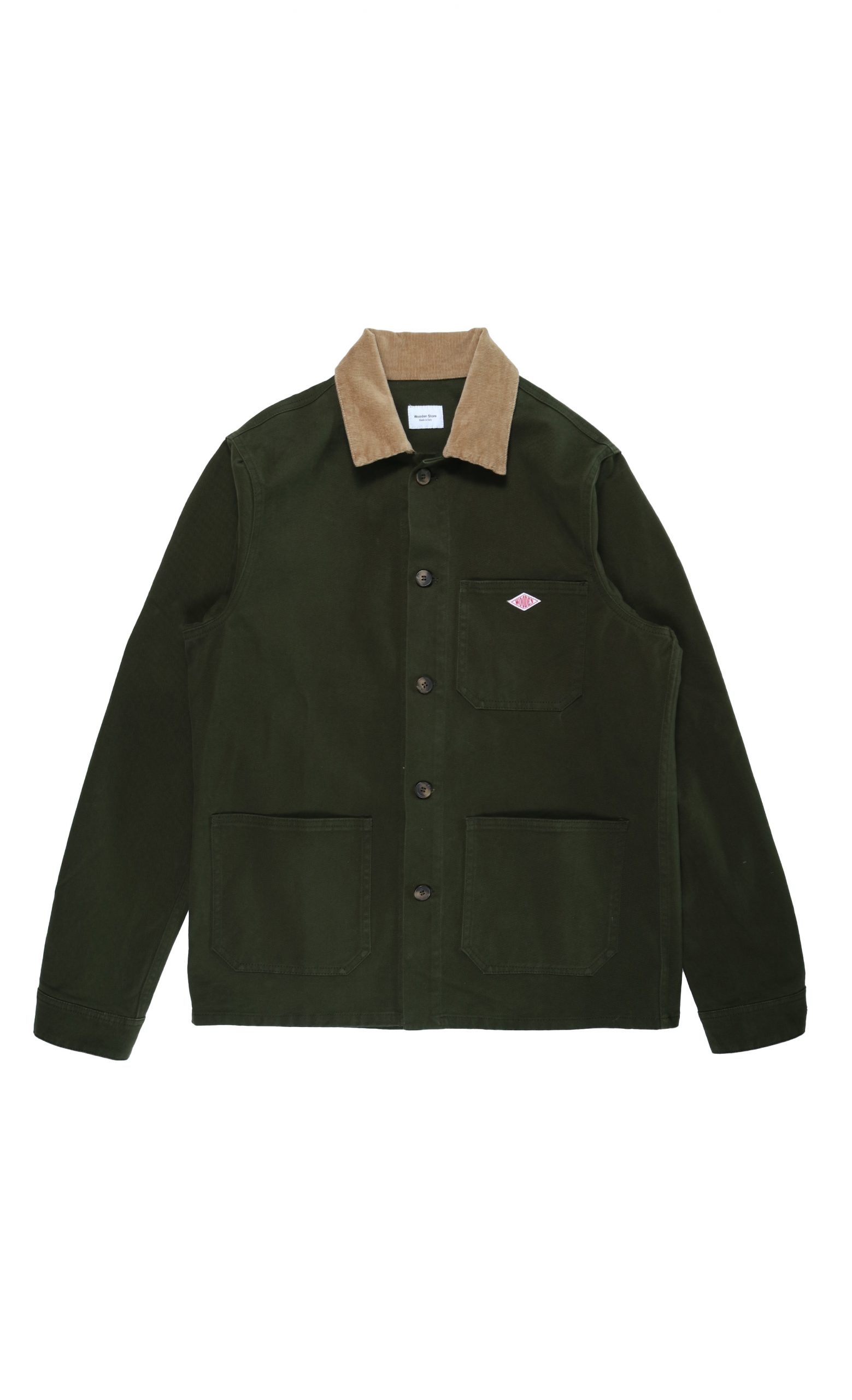 Giacca Boston Verde Khaki | Wooden Store