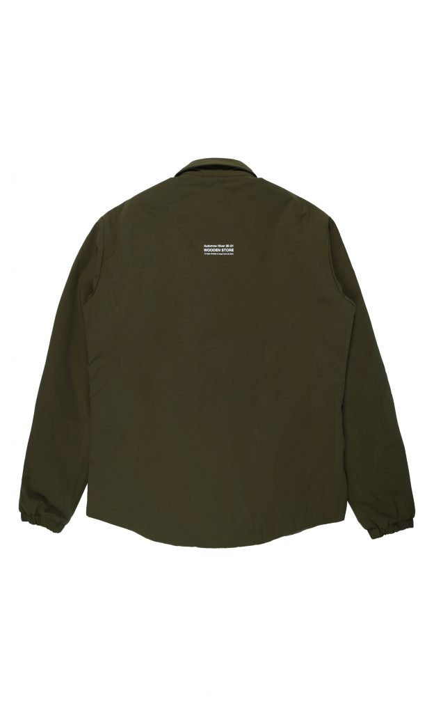 Nizza Termal Layer Shirt Verde | Wooden Store