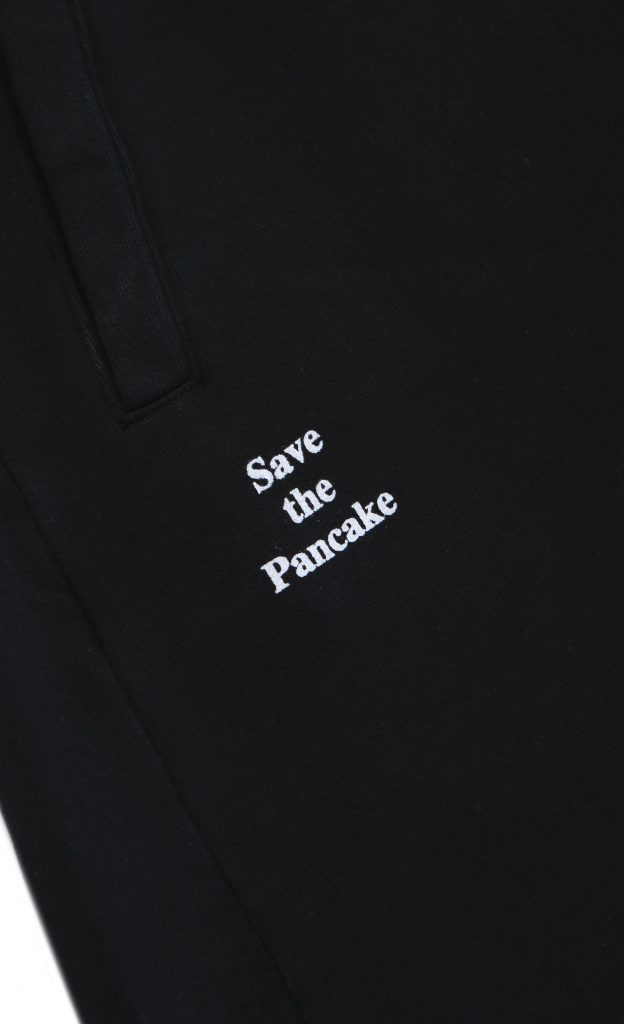 Pantalone Save The Pancake Black | Wooden Store